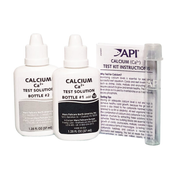 API Calcium Test Kit Saltwater Contents
