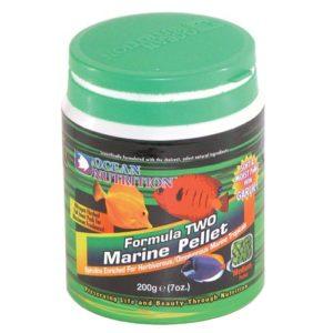 Ocean Nutrition Formula Two Medium Marine Pellets 7 oz