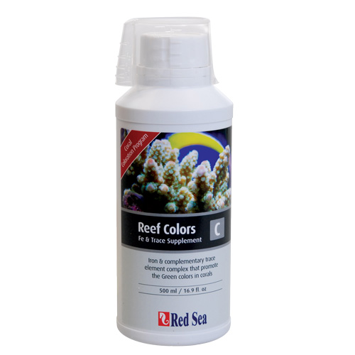 Red Sea Reef Colors - C (Iron:Trace) - 500 ml