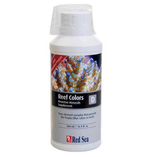 Red Sea Reef Colors - D (Bioactive Minerals) - 500 ml