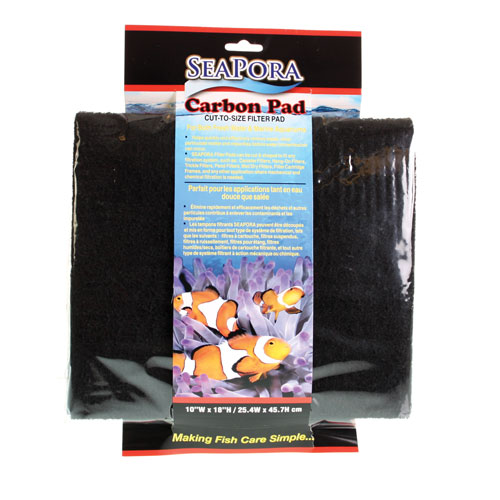 Seapora Carbon Pad - 18 x 10