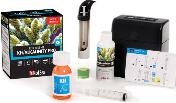 Red Sea Alkalinity Pro Test Kit Contents
